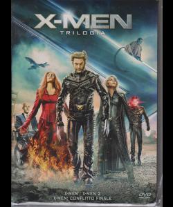 I Dvd Di Sorrisi2 - X-Men Trilogy - Cofanetto 3 film - n. 16 - settimanale - 11/6/2019 -