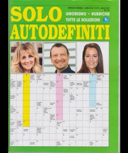 Solo Autodefiniti - n. 279 - mensile - luglio 2019 -