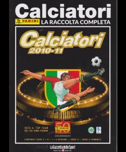 Album Storici Panini - Calciatori 2010-11 - La raccolta completa - n. 24 - settimanale