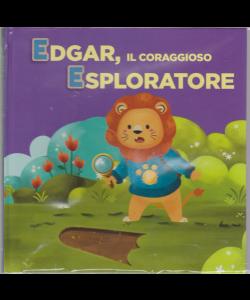 Impara con le lettere e gli animali - Edgar, il coraggioso esploratore - n. 4 - settimanale - 4/6/2019