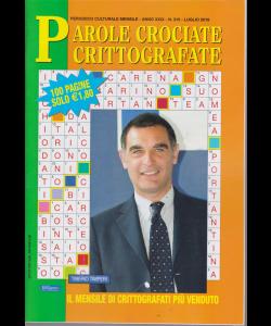 Parole Crociate crittografate - n. 315 - luglio 2019 - mensile - 100 pagine