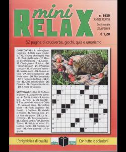 Mini Relax - n. 1935 - settimanale - 25/6/2019 -