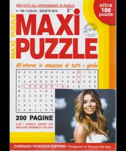Maxi Puzzle - n. 156 - luglio - agosto 2019 - 200 pagine