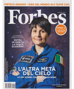 Forbes - n. 21 - luglio 2019 - mensile