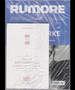 Rumore - Italia Sotterranea - Classici da scoprire - seconda parte anni 80 e 90 - n. 331 - bimestrale - luglio - agosto 2019 -