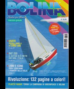 Bolina - Edizione A Colori - n. 376 - luglio - agosto 2019 - mensile