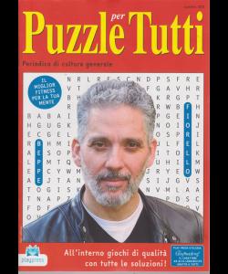 Puzzle X Tutti - n. 103 - bimestrale - 2/7/2019 - Beppe Fiorello