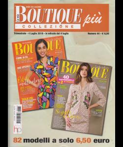 La mia boutique più collezione - n. 44 - trimestrale - 4 luglio 2019 - 82 modelli