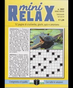 Mini Relax - n. 1937 - settimanale - 9/7/2019 -