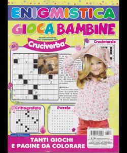 Enigmistica Gioca Bambine - n. 7 - bimestrale - luglio - agosto 2019 -