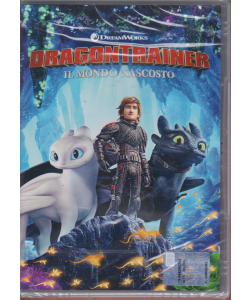 I Dvd Di Sorrisi3 - Dragon Trainer - Il mondo nascosto - n. 14 - settimanale - 9/7/2019