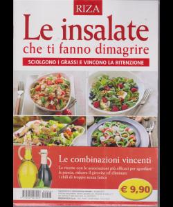 Alimentazione naturale - Le insalate che ti fanno dimagrire - n. 46 - luglio 2019 -