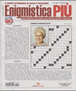Enigmistica Piu' - n. 28 - 16 luglio 2019 - settimanale