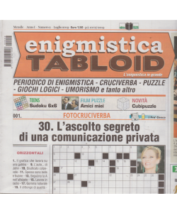 Enigmistica Tabloid - n. 2 - mensile - luglio 2019 -