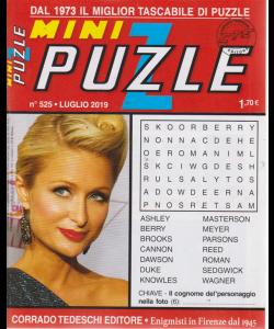 Minipuzzle - n. 525 - luglio 2019 - mensile