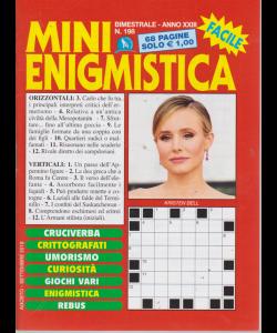 Mini Enigmistica - n. 198 - bimestrale - agosto - settembre 2019 - 68 pagine