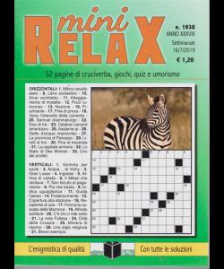 Mini Relax - n. 1938 - settimanale - 16/7/2019 -