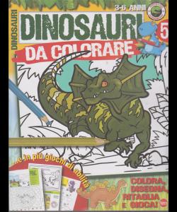 Dinosauri Leggendari Kids - n. 5 - bimestrale - agosto - settembre 2019 -