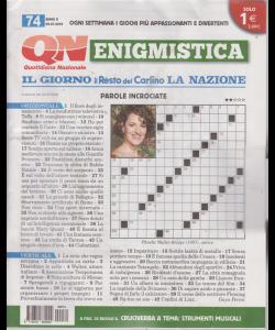Enigmistica - n. 74 - settimanale - 23/7/2019 -
