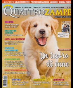 Quattro Zampe - n. 141 - mensile - agosto 2019 -