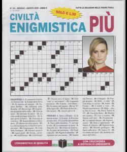Civilta' Enigmistica più - n. 141 - mensile - agosto 2019 -