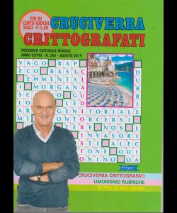 Cruciverba crittografati - n. 303 - agosto 2019 - mensile - più di 100 giochi