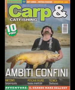 Carp E Catfishing - n. 39 - bimestrale - agosto - settembre 2019 -