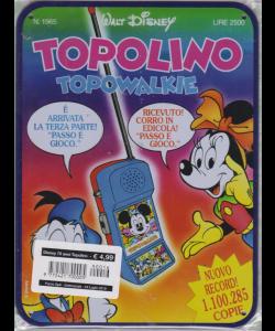 Disney 70 Anni Topolino - Topo Walkie - n. 16 - 24 luglio 2019 - settimanale