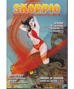 Skorpio - n. 2212 - 25 luglio 2019 - settimanale di fumetti