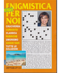 Enigmistica Per Noi - n. 98- agosto - ottobre 2019 - trimestrale - 100 pagine