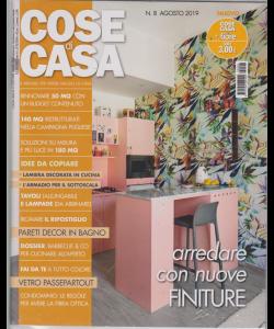 Cose Di Casa + - Casa In Fiore - n. 8 - agosto 2019 - mensile - 2 riviste