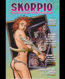 Skorpio - n. 2191 - 28 febbraio 2019 - settimanale di fumetti