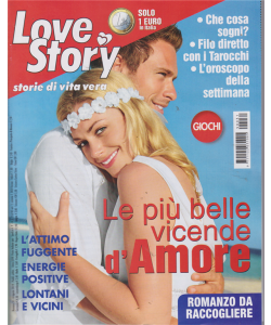 Love Story - n. 31 - settimanale - 6 agosto 2019 -