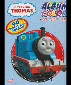 Il trenino Thomas - Album color - n. 33 - bimestrale - 18 luglio 2019-