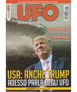 Ufo International magazine - n. 77 - agosto 2019 - mensile
