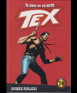 Tex - Ombre malesi - n. 84 - settimanale - copertina rigida