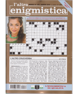 L'altra Enigmistica - n. 478 - agosto 2019 - mensile