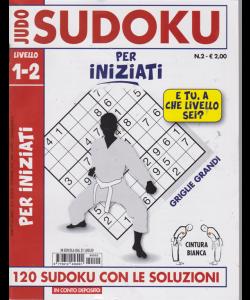 Judo Sudoku Cintura bianca . n. 2 - livello 1-2 - per iniziati - 31 luglio 2019 -