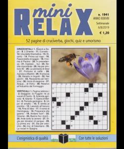 Mini Relax - n. 1941 - settimanale - 6/8/2019 -