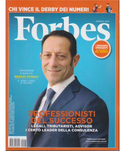 Forbes - n. 17 - marzo 2019 - mensile