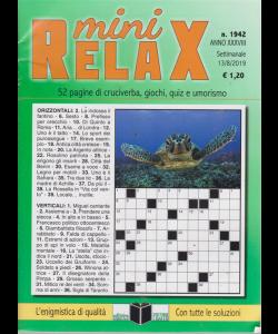 Mini Relax - n. 1942 - settimanale - 13/8/2019 -