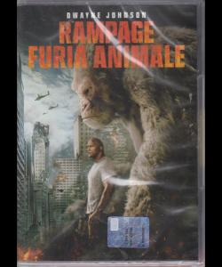 I Dvd Fiction Sorrisi.2 - Rampage furia animale - n. 39 - settimanale - 20/8/2019