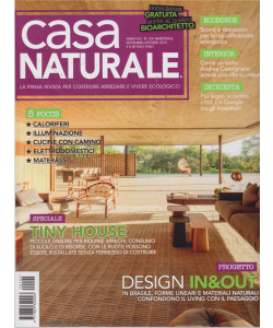 Casa Naturale - n. 102 - bimestrale - settembre - ottobre 2019 -