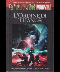 Graphic Novel Marvel - L'ordine Di Thanos - n. 27 - 24/8/2019 - quattordicinale - copertina rigida