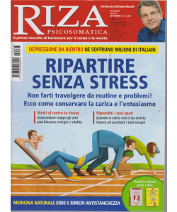 Riza Psicosomatica - n. 463 - mensile - settembre 2019