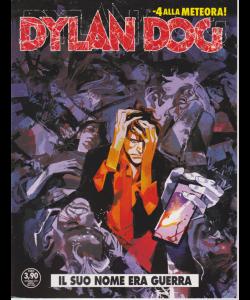 Dylan Dog - Il Suo Nome era Guerra - n. 396 - settembre 2019 - mensile