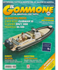 Il Gommone e la nautica per tutti - n. 382 - settembre 2019 - mensile