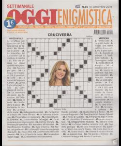 Settimanale Oggi Enigmistica - n. 36 - settembre 2019 -