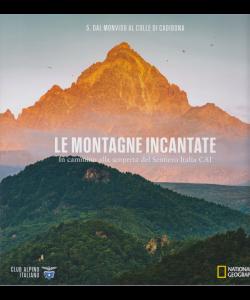 Le montagne incantate -N. 5 - Dal Monviso al Colle di Cadibona -