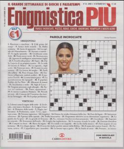 Enigmistica Piu' - n. 36 - 10 settembre 2019 - settimanale